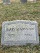 Harry Monroe Maynard