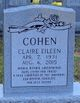 Claire Eileen <I>Osborne</I> Cohen
