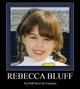 Profile photo:  Rebecca Suzanne Bluff