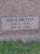 Profile photo:  Amos Milton Cutrer