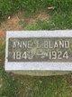 Anne L Bland