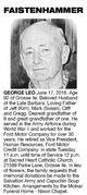 Profile photo:  George Leo Faistenhammer