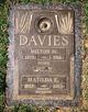 "Profile photo:  Matilda K ""Tillie"" Davies"