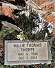 Willie Thomas Thorpe
