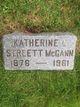 Katherine G <I>Snyder</I> McGann