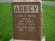 Profile photo:  Jane E. <I>Ward</I> Abbey