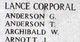 Corporal William Archibald