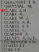 Private Joseph Henry Clare