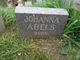 Profile photo:  Johanna Christina Abels