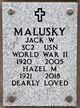 Profile photo:  Jack Ward Malusky