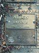 Profile photo:  David F. Allen