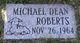 Michael Dean Roberts