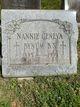 Nannie Geneva Bynum
