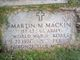 "Martin Michael ""Marty"" Mackin"