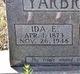 Ida Elizabeth <I>Lunsford</I> Yarbrough