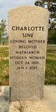 Charlotte <I>Rathman</I> Sine