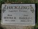 Profile photo:  Bertha Miriam <I>Collings</I> Hickling
