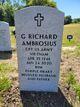"""Profile photo: CPT George Richard """"Dick"""" Ambrosius"""
