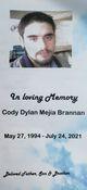 Profile photo:  Cody Dylan Brannan