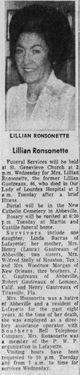 Lillian Claire <I>Gautreaux</I> Ronsonette