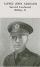 "Profile photo: Maj Alfred Jerry ""Boots"" Adkisson"