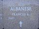 Profile photo:  Frances A. Albanese