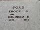 "Mildred ""Poodle"" <I>Bradshaw</I> Ford"