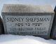 Profile photo:  Sidney Shepsman