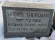 Profile photo:  Morris Shepsman