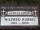 "Profile photo:  Wilfred Arthur ""Bill"" Kurbis"