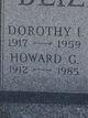 Dorothy I. <I>Nowiin</I> Blizzard