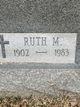 Ruth <I>Mussetter</I> Barker