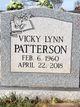 Vickie Lynn <I>McBride</I> Patterson