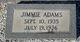 Profile photo:  Jimmy Adams