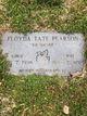 Floyda <I>Tate</I> Pearson