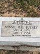 Minnie Mae Bushey