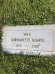 """Bernadette Cecilia """"Bernie or Nen"""" <I>Werner</I> Kimpel"""