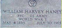 PFC William Harvey Haney