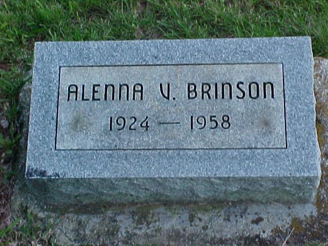 Alenna Virginia <i>Warrick</i> Brinson