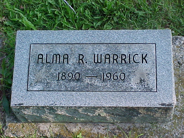Alma Rebecca <i>Lightfoot</i> Warrick