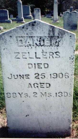 Daniel Boone Zellers, Sr