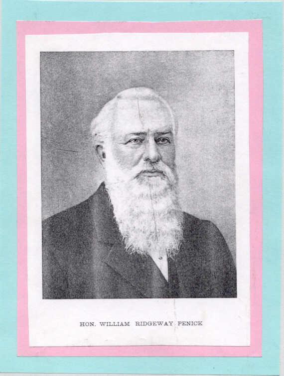 COL William Ridgeway Penick