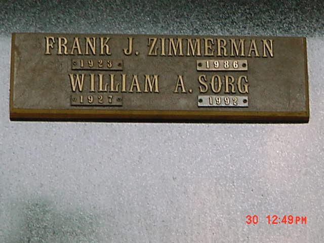 Frank J Zimmerman