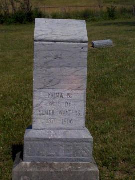 Emma B. <i>Runkel</i> Walters