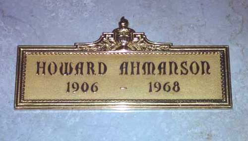 Howard Fieldstead Ahmanson, Sr