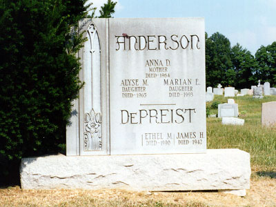 Image result for Marian Anderson grave