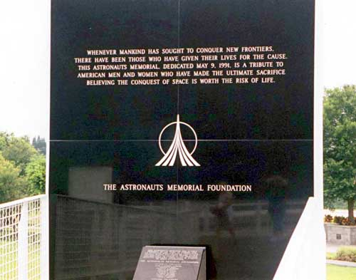 The Space Mirror Memorial