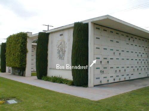 Bea Benaderet 1908 1968 Find A Grave Memorial