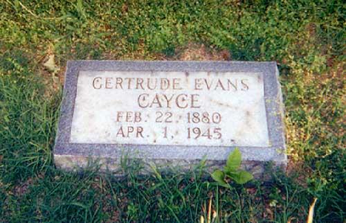 Gertrude Evans Cayce (1880-1945) - Find A Grave Memorial