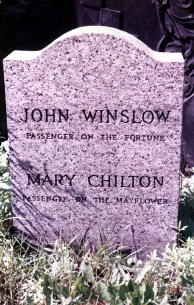 Mary <i>Chilton</i> Winslow